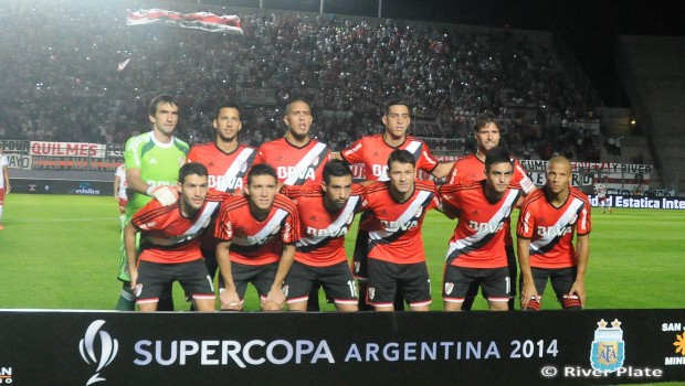 River disputó la Supercopa en San Juan