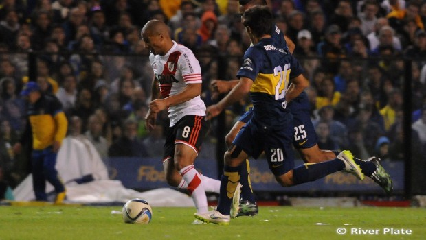 River visitó a Boca por el torneo local