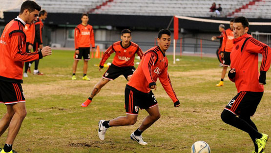 Entrenamiento del 24 de julio (Estadio Monumental)