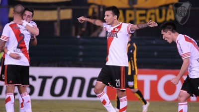 Guaran� vs. River Plate (Copa Libertadores)