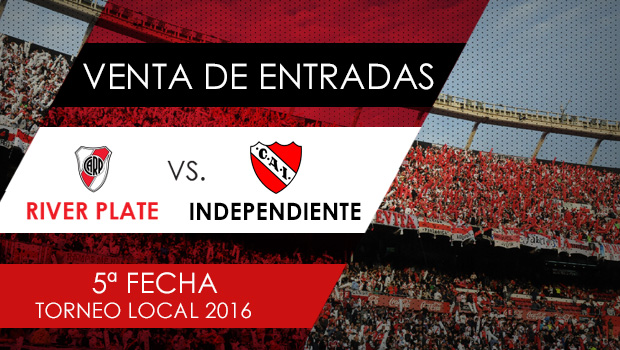 Venta de entradas vs. Independiente