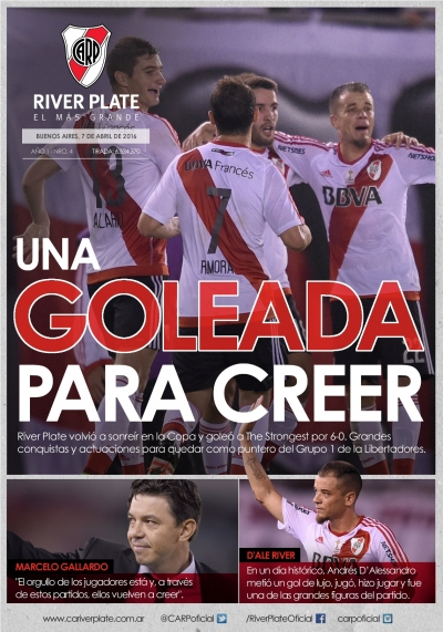 River Plate vs. The Strongest - Copa Libertadores