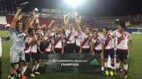 River is the champion of the Generation adidas Cup