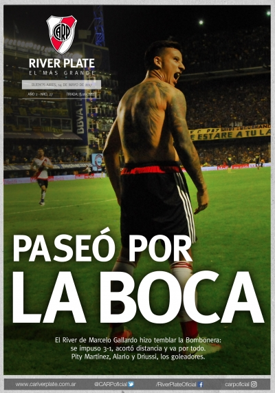 Boca Juniors vs. River Plate (Fecha 24)