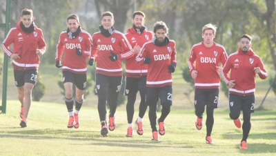 Entrenamiento del 12 de junio (River Camp)
