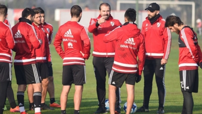 Entrenamiento del 14 de junio (River Camp)