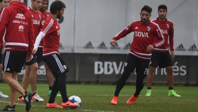 Entrenamiento del 16 de junio (River Camp)