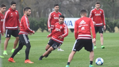 Entrenamiento del 23 de junio (River Camp)