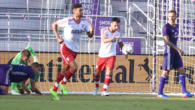 River won the friendly match against Orlando City