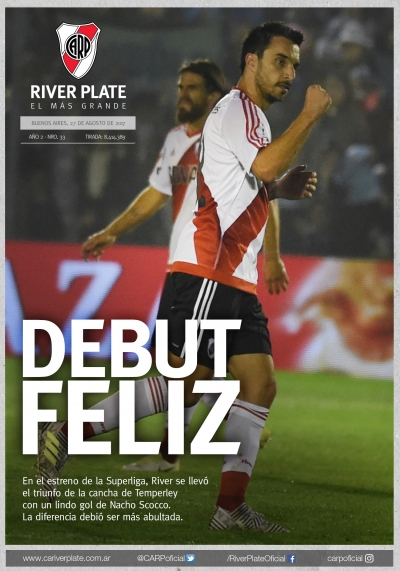 Temperley vs. River Plate (Superliga)