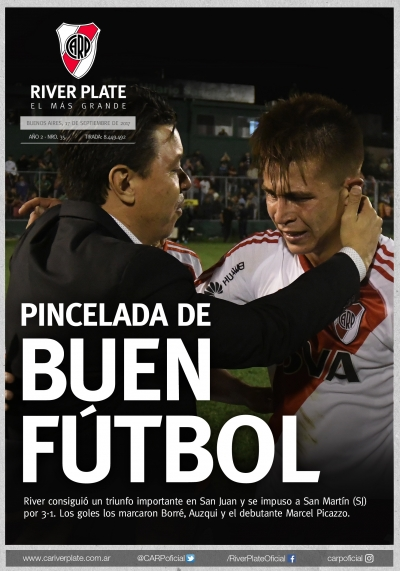 San Martín de San Juan vs. River Plate (Superliga)