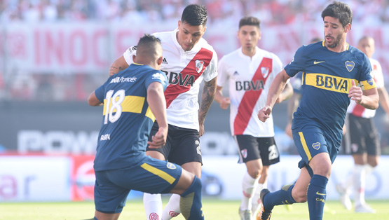 River Plate vs. Boca Juniors (Superliga - Fecha 8)