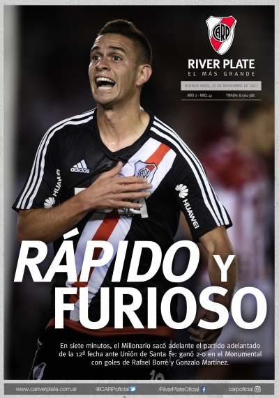 River Plate vs. Unión de Santa Fe (Superliga)