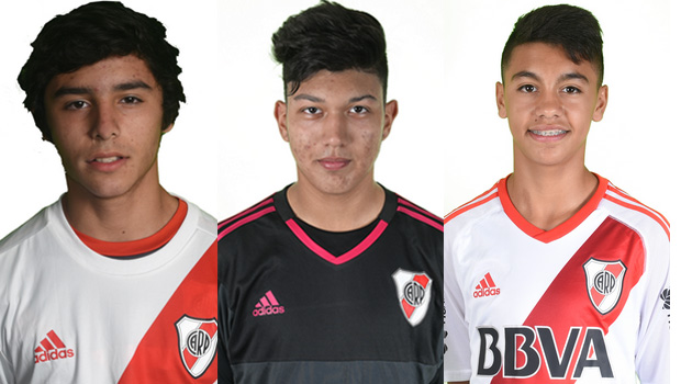 Presencia riverplatense en el Sub-16