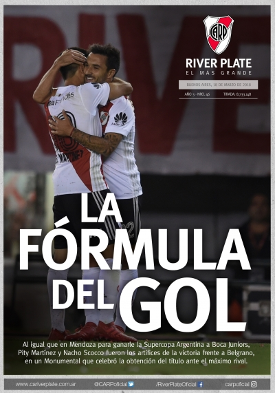 River Plate vs. Belgrano (Superliga)
