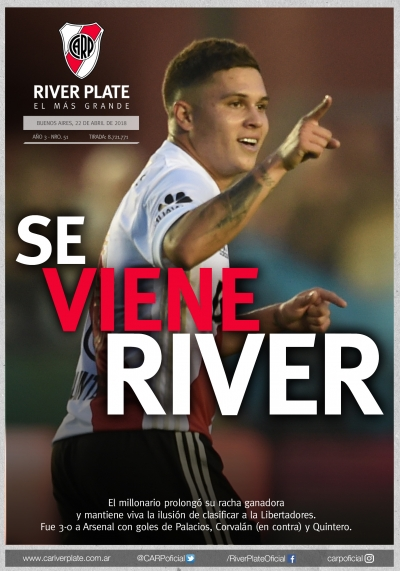 Arsenal Vs. River Plate (Superliga)
