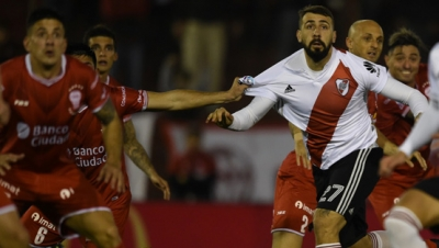 Huracán vs. River Plate (Superliga - Fecha 1)