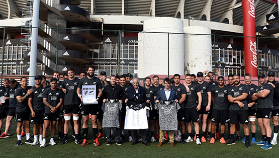 All Blacks, en el Estadio Monumental