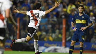 Boca Juniors vs. River Plate (Superliga - Fecha 6)