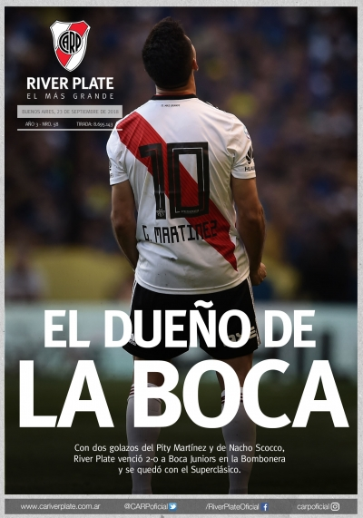 Boca Juniors vs. River Plate (Superliga 2018)