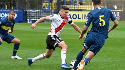 Reserva - Boca Juniors vs. River Plate (Superliga - Fecha 6)
