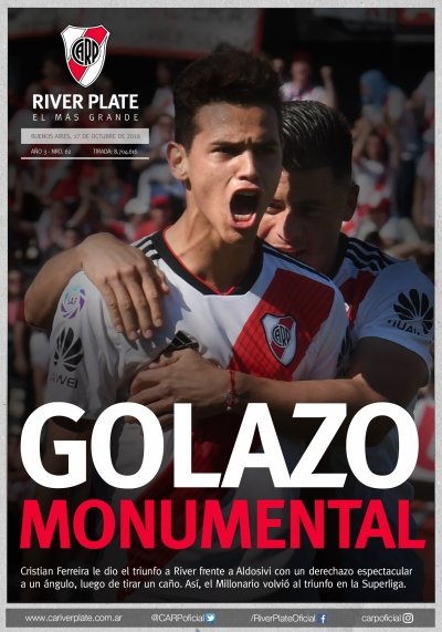 River Plate vs. Aldosivi (Superliga)