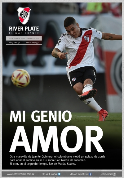 River Plate vs. San Martín de Tucumán (Superliga)