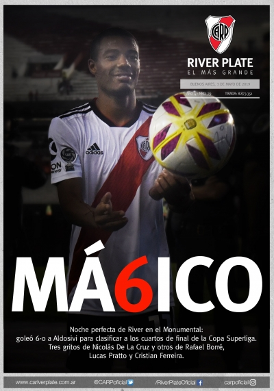 River Plate vs. Aldosivi (Copa Superliga 2019)