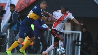 River Plate vs. Boca Juniors (Superliga - Fecha 5)
