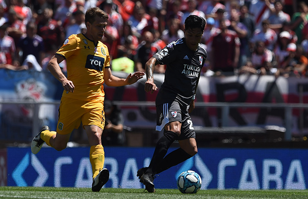En el Monumental, River no pudo ante Central