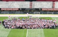The River Plate family celebrated the Eternal Cup