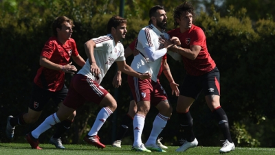 Amistoso en River Camp: River vs. Newell's