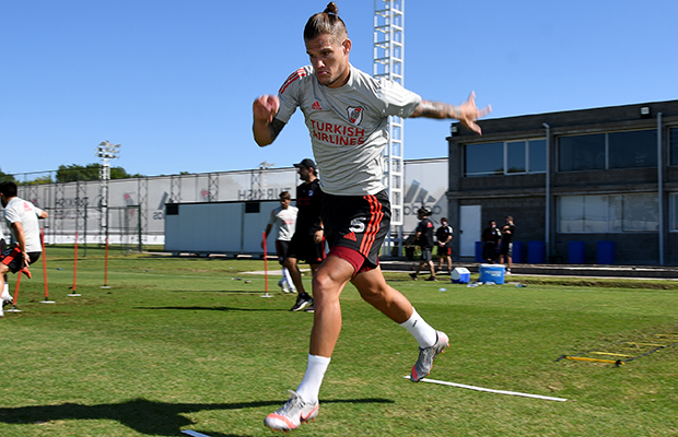River sigue preparándose para el domingo