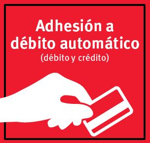 Adhesión a Débito automático (débito y crédito)